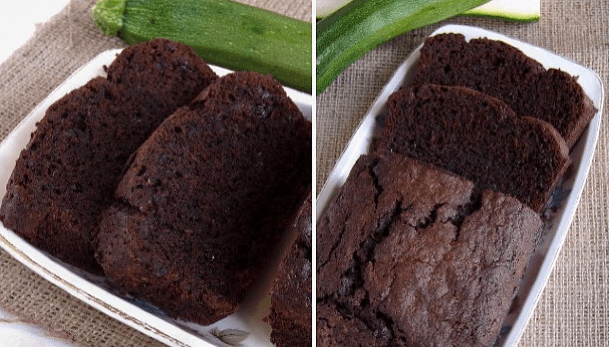 Šokoladinis cukinijų keksas   Receptas
