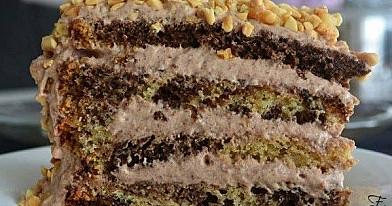 Šokoladinis karamelinis tortas | Receptas