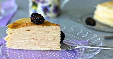 Vanilinis lietinių tortas | Receptas