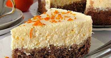 Mandarininis-kokosinis tortas su varške