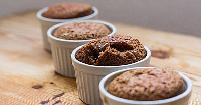 Skanūs šokoladiniai pyragėliai