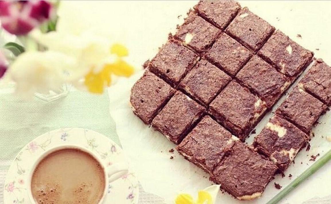 Šokolado ir varškės pyragas