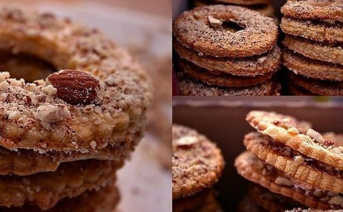 Trapūs migdoliniai sausainėliai