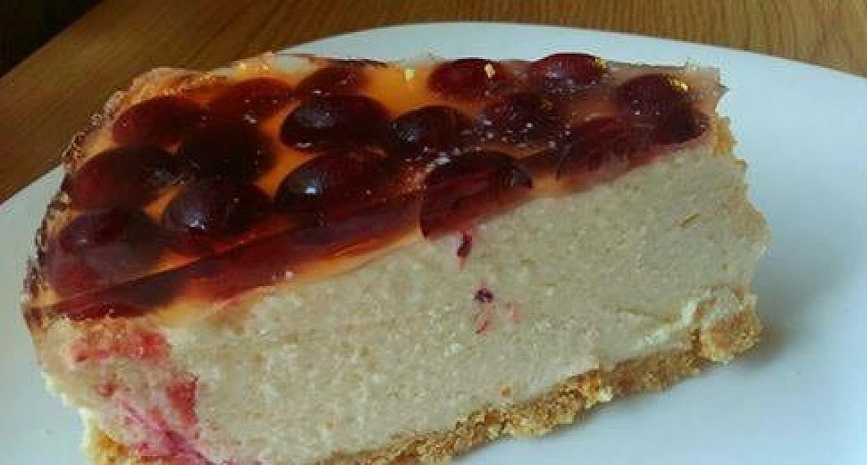 Nekeptas gaivus tortas su agrastais