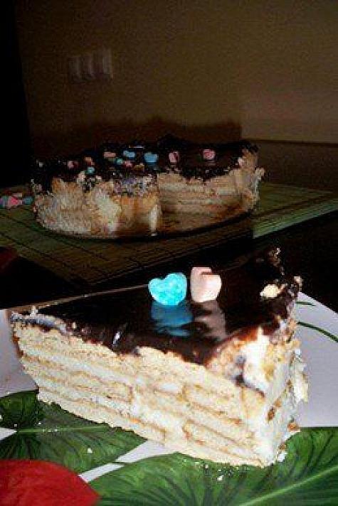 Sovietinis varškės ir sausainių pyragas