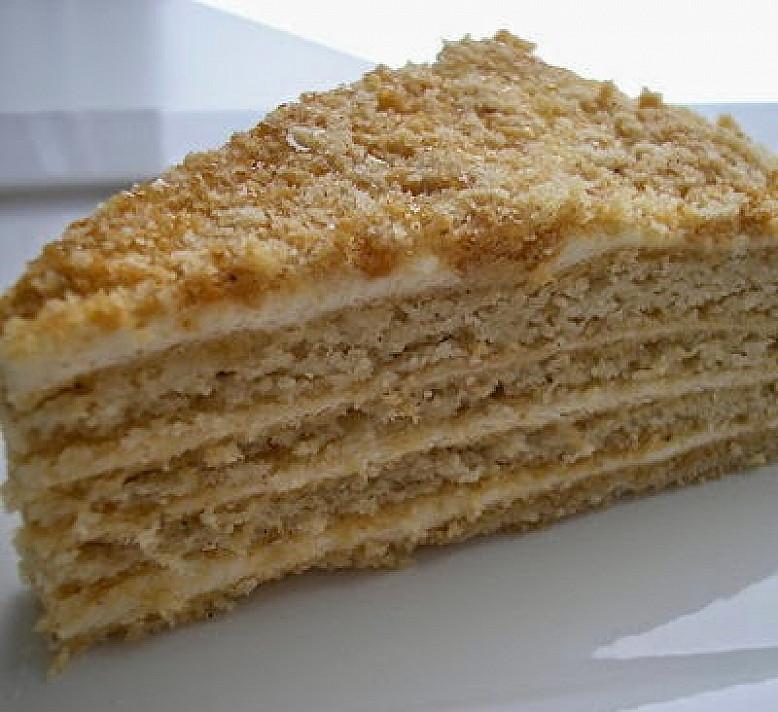 Lengvas medaus pyragas