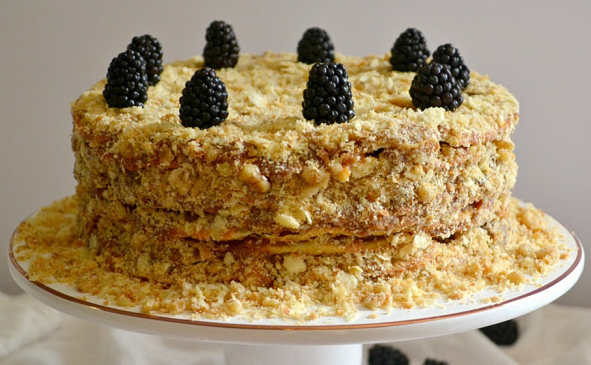 Čilietiškas tūkstančio sluoksnių tortas (Torta de Mil Hojas)