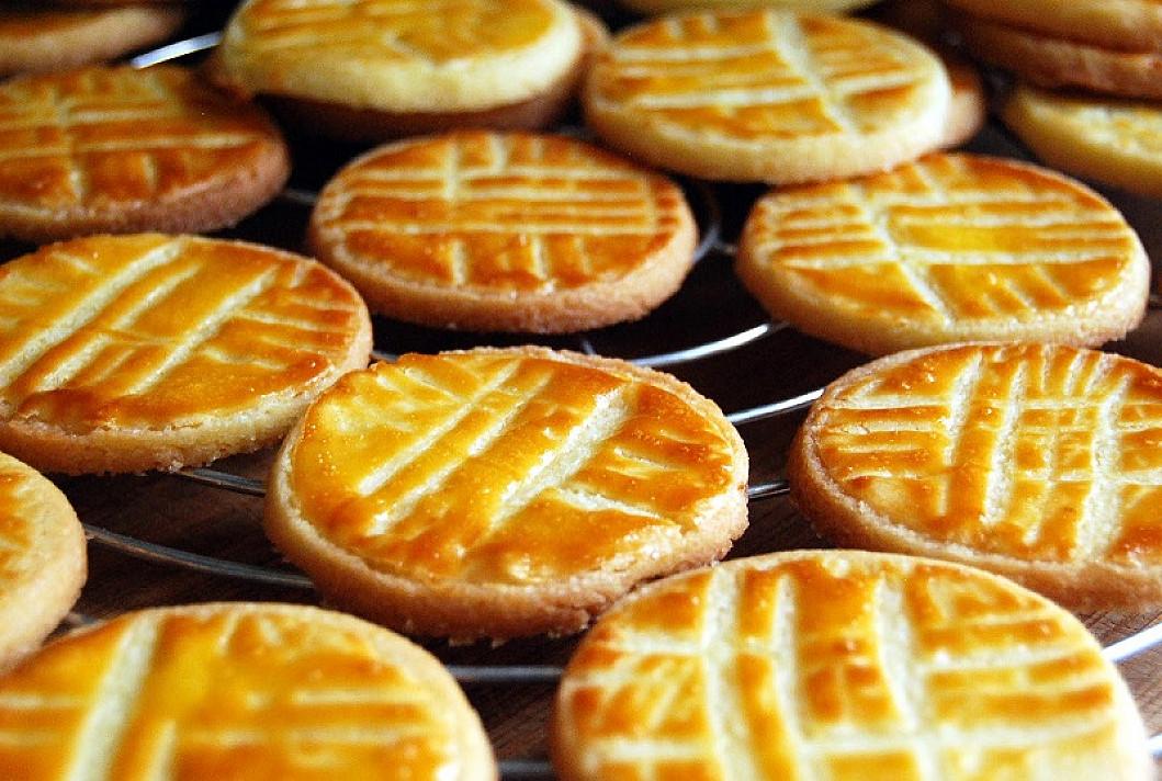 Bretoniški sausainiai su sūdytu sviestu