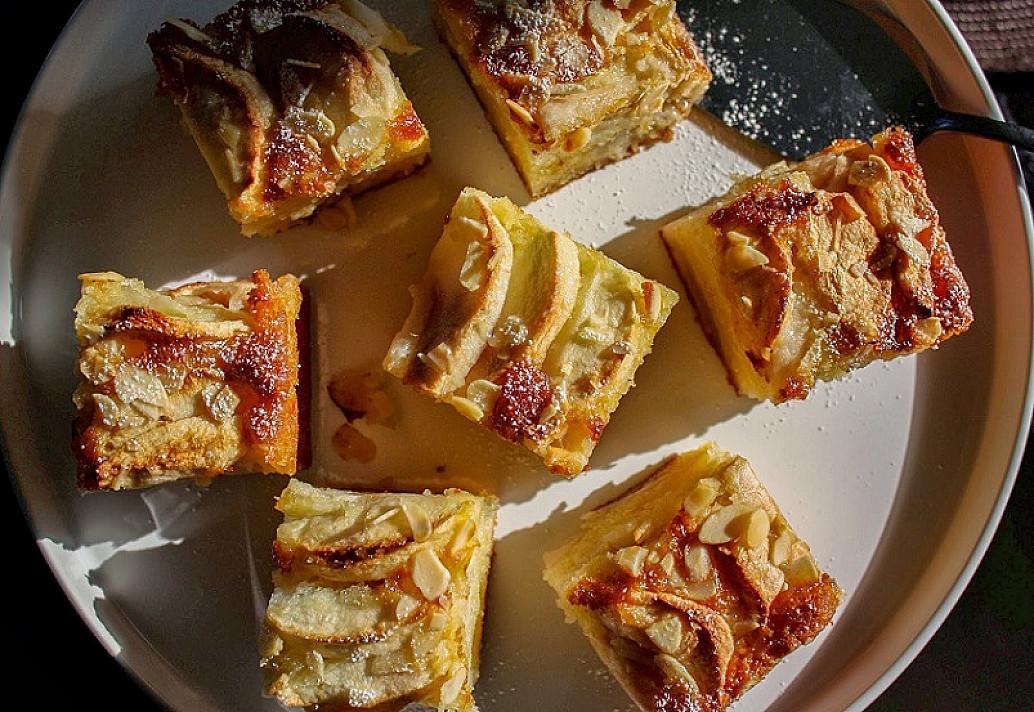 Obuolių pyragas. Greitas ir mėgstamiausias