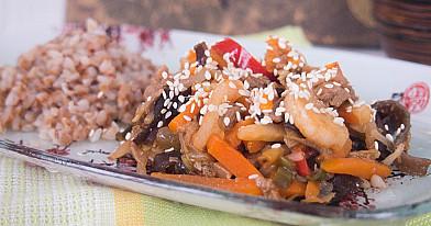 Mėgstantiems kinų virtuvę: lieknesnė saldžiarūgštė paukštiena