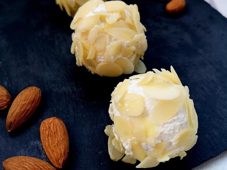 Ožkų sūrio kamuoliukai - tokie gardūs, kad gaminu ir be progos