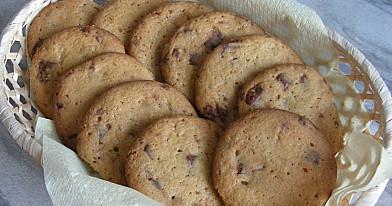 Amerikoniški sausainiai su šokolado gabaliukais