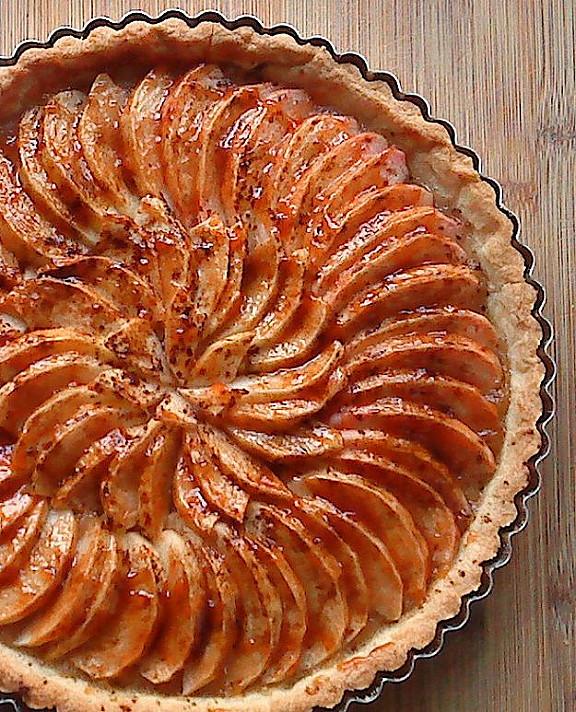 Prancūziška obuolių tarta