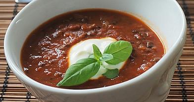 Lęšių ir pomidorų sriuba