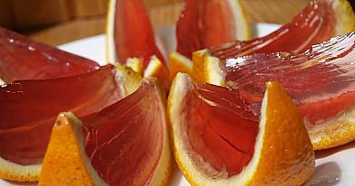 Desertas: Želė apelsinų skiltelėse pagal Beatą