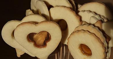 Vitražiniai sausainiai - labai papuošia stalą!