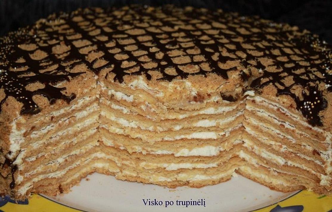 Smetoniškas medaus tortas