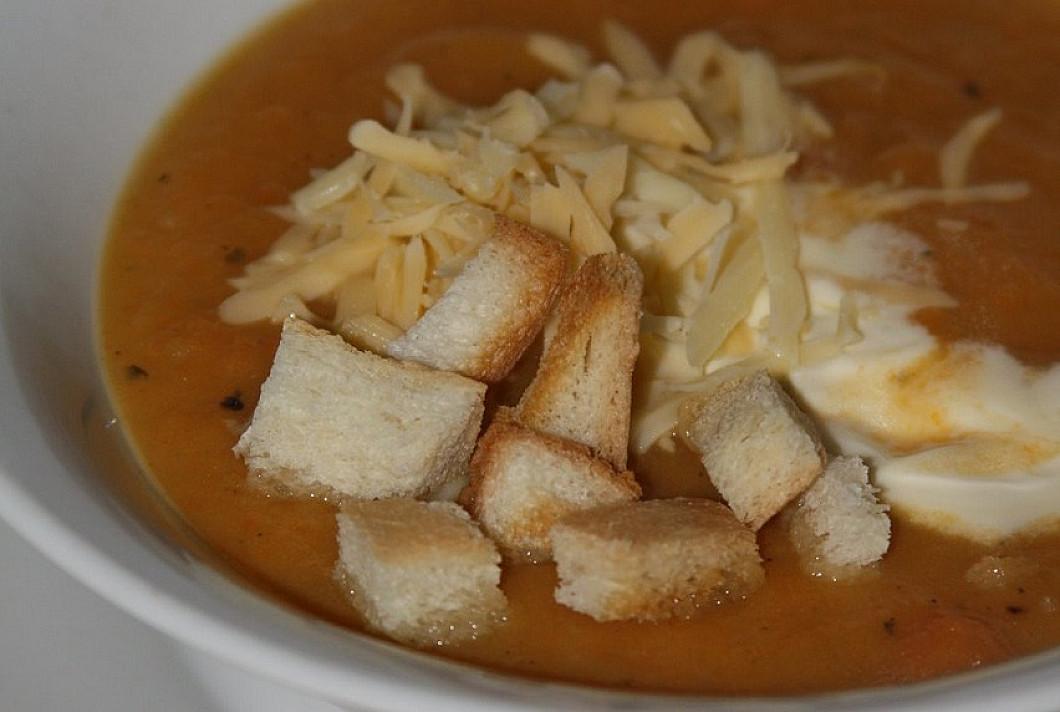 Kreminė trinta morkų sriuba