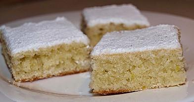 Citrininis-kokosinis pyragas