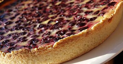 Citrininis vyšnių pyragas