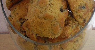 Sausainiai su džiovintomis slyvomis