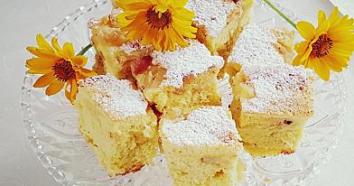 Obuolių pyragas, be jokių riebalų (vos 5 ingredientai)