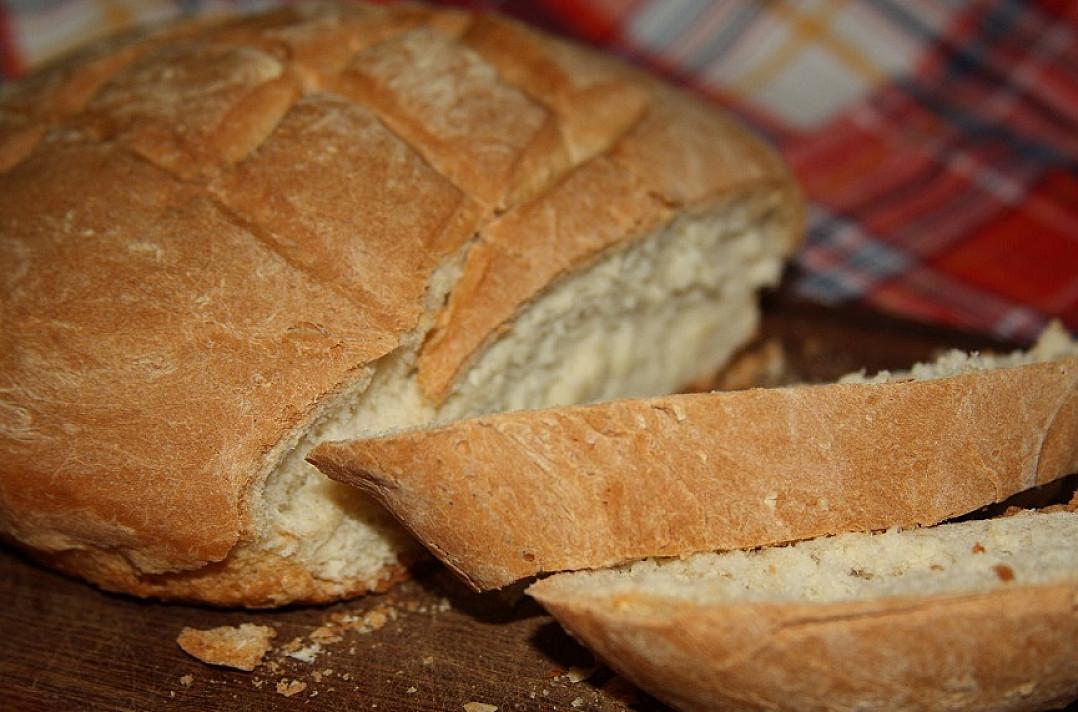 Labai skani naminė balta duona