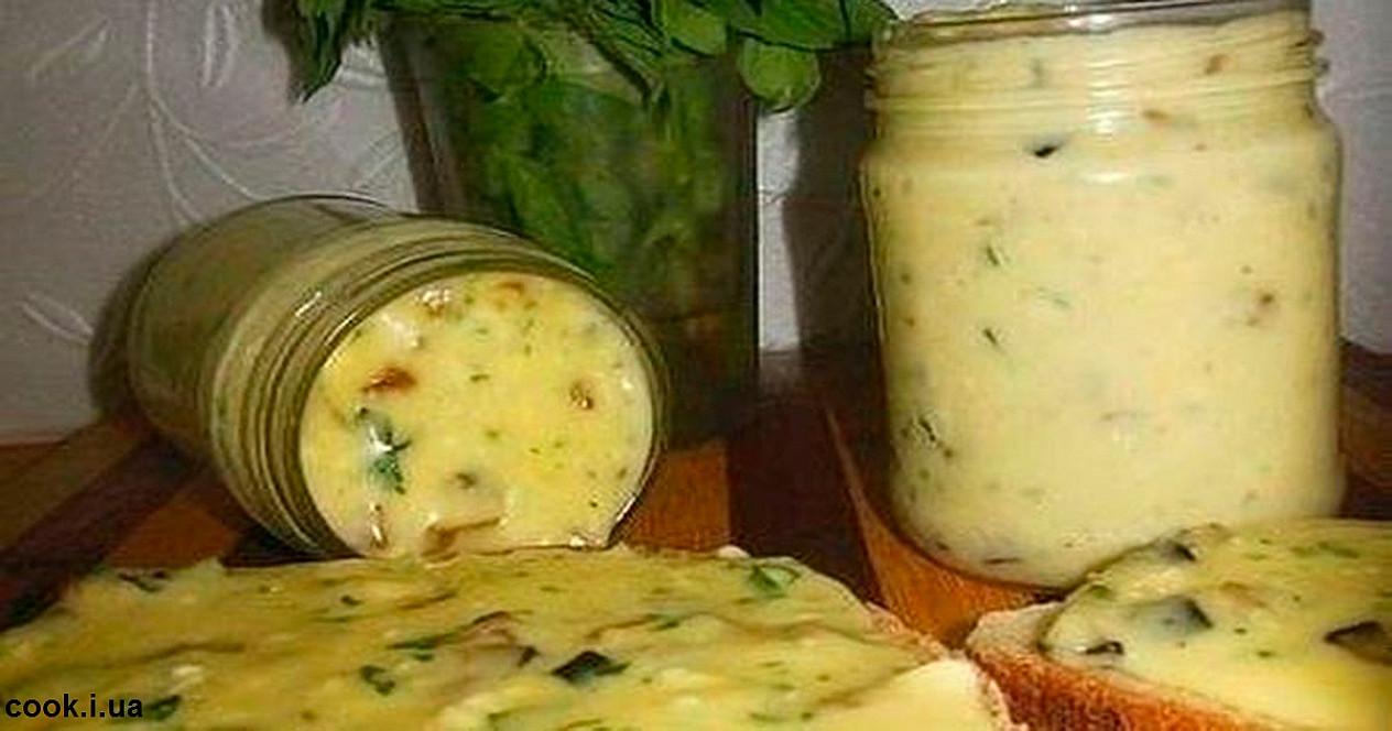 Lydytas naminis sūris su grybais – receptas, kurį man perdavė močiutė