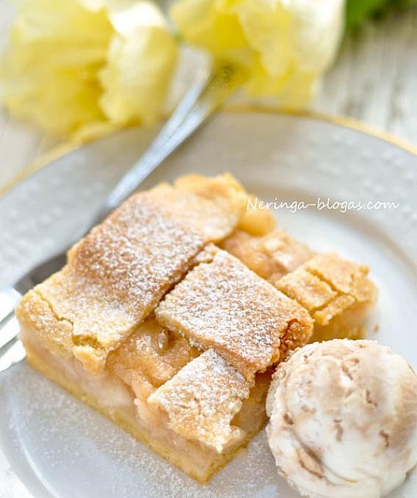 Obuolių pyragas - Šarlotka (tiesiog tikras Lenkiškos virtuvės stebuklas!)