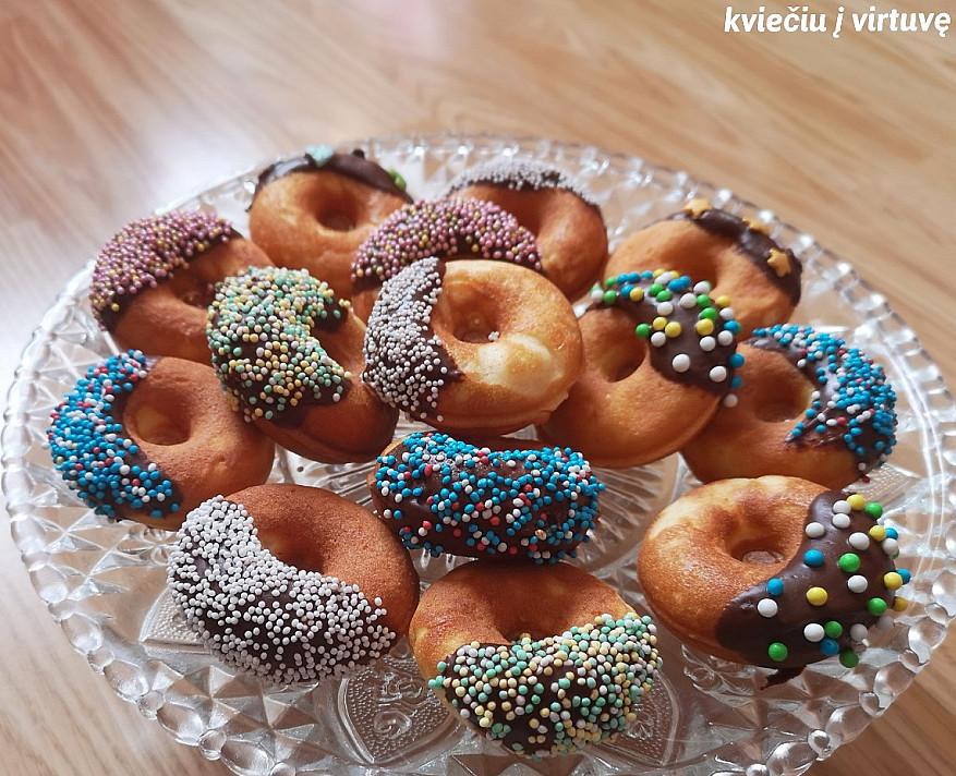 Biskvitinės barankytės - tikras vaikų džiaugsmas, pusė jų būna suvalgyta dar bekepant!