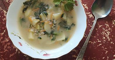 Dilgėlių sriuba - net pati nustebau, kaip skaniai pavyko!