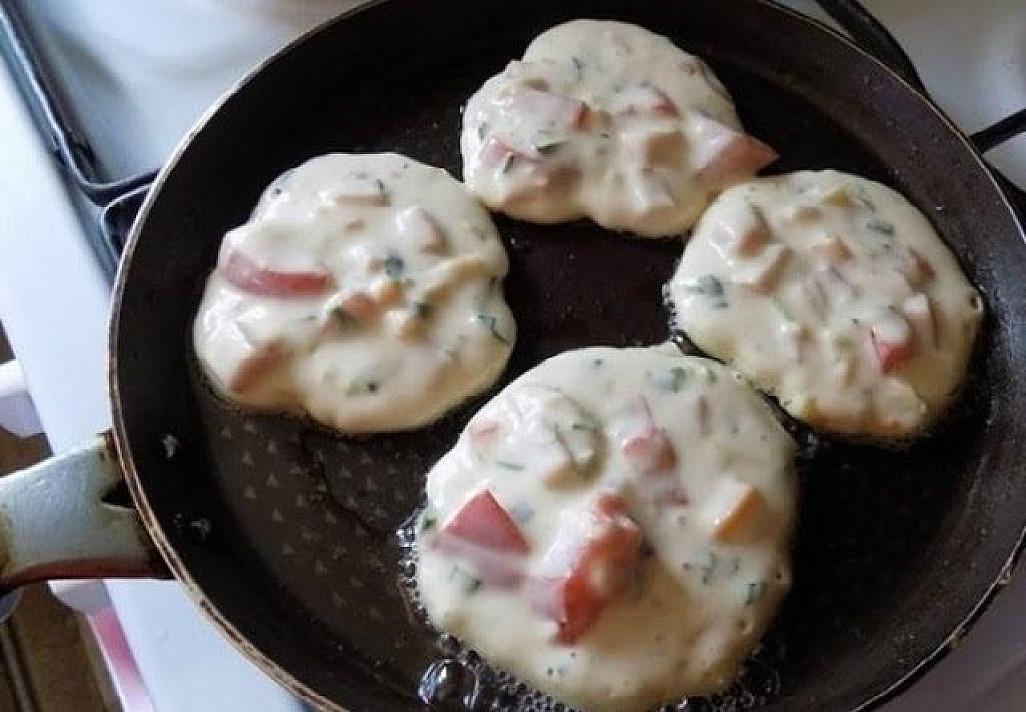 Stulbinantys pusryčiai: picos skonio blynai