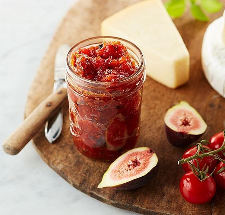 Pomidorų ir obuolių čatnis - nauja idėja! Na, labai jau skaniai gaunasi!