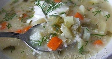 Agurkinė sriuba | Receptas