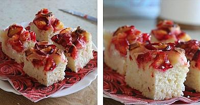 Paprastas slyvų pyragas