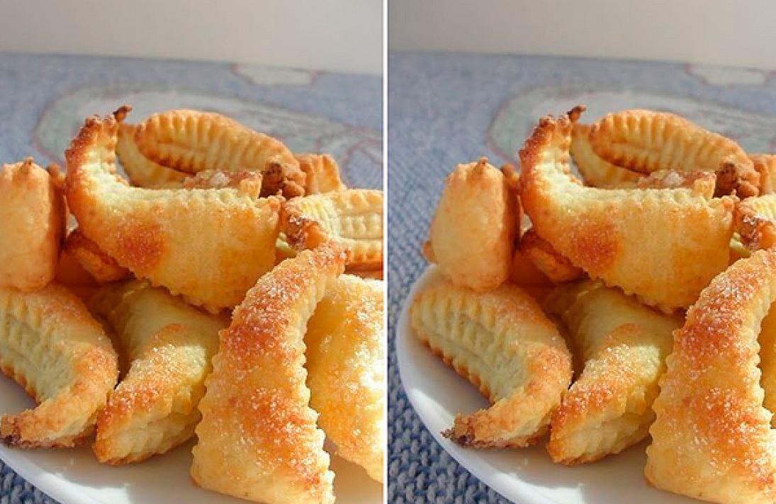 Varškės kepinių mėgėjams - varškės sausainiai prie arbatos!