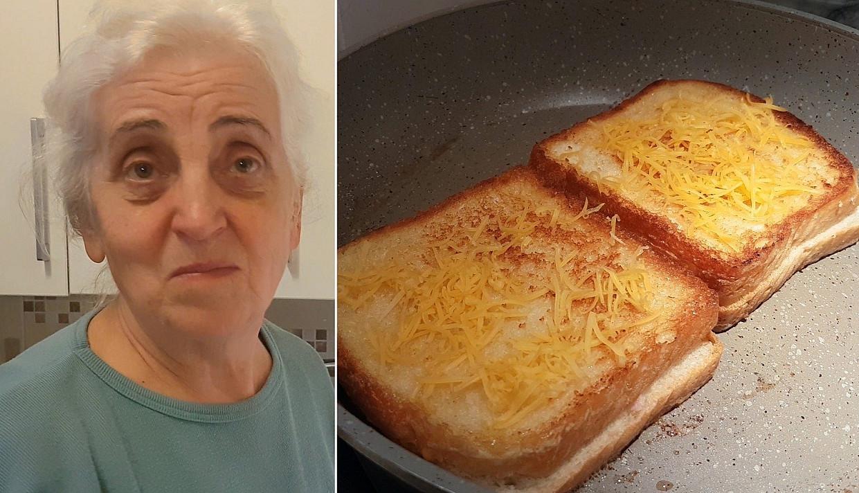 Primins vaikystę: super lengvai pagaminamas kepto sūrio sumuštinis