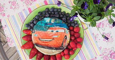 Sveikuolis tortas su kitokia varške vaikų gimtadieniui