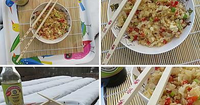 """Žiedinių kopūstų """"ryžiai"""" - niekas nepatikės, kad tai netikri ryžiai!"""