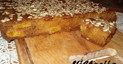 Moliūgainis su džiovintais vaisiais - pateks į pyragų top5!