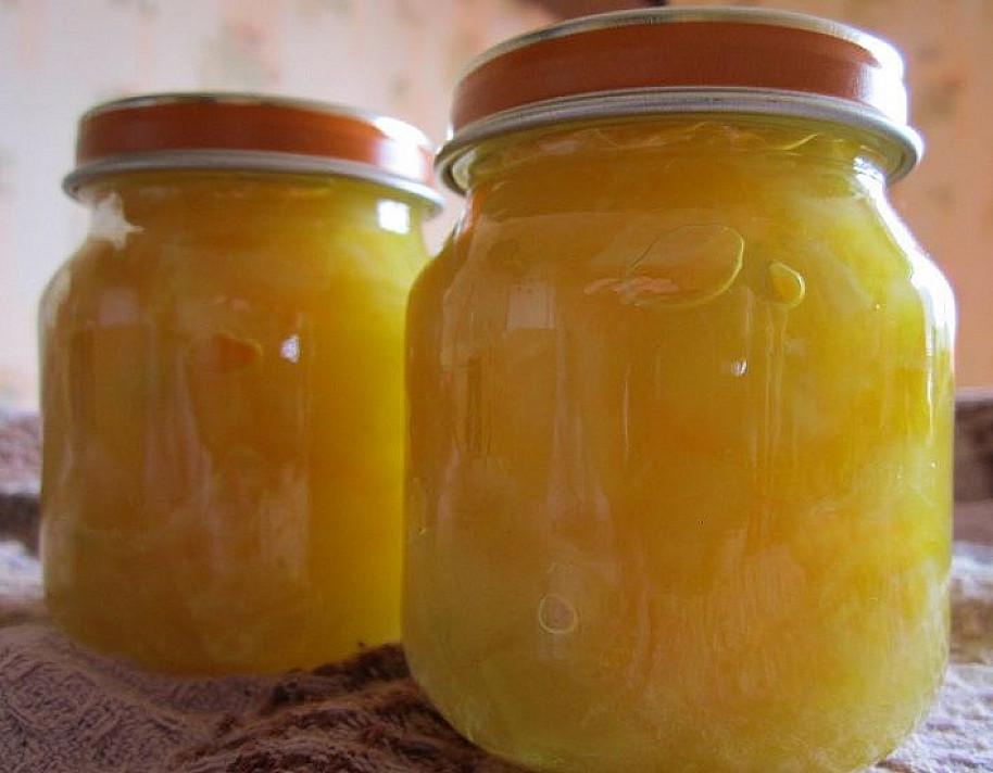 Cukinijų-apelsinų uogienė