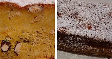Burnoje tirpstantis moliūgų pyragas su riešutais