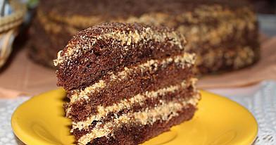 Šokoladinis kavos tortas - toks receptas privalo būti kiekvienos šeimininkės užrašuose!