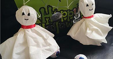 Helovynui: Čiulpinukas vaiduokliukas - pralinksmins kiekvieną vaiką!