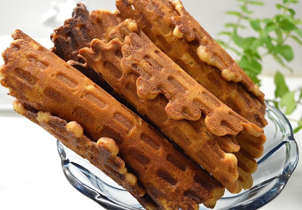 Labai traškūs medaus vafliukai - visos draugės prašė recepto!