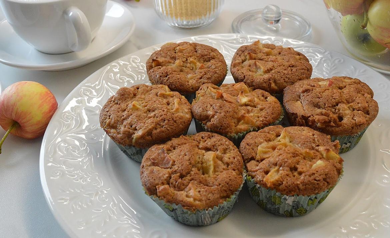 Самые вкусные кексы с яблоками