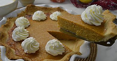 Классический тыквенный пирог – другого рецепта и не ищу