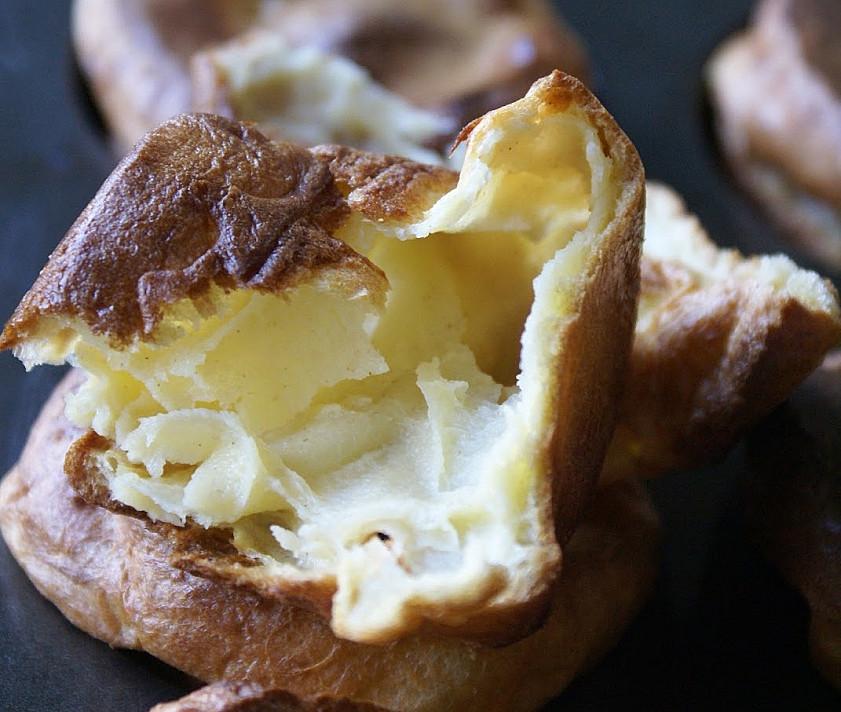 Очень вкусные блинные пирожки йоркширские пудинги