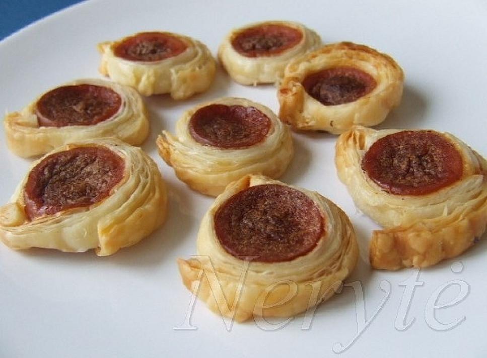 """""""Пуговки"""" - закуска с сосисками, которая очень нравиться детям!"""