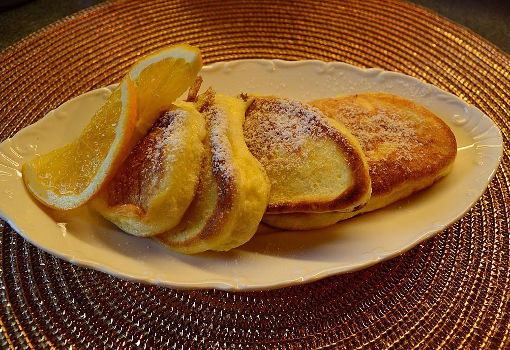 Фантастически вкусные пышные бисквитные блинчики